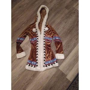 Snow Eskimo costume size S